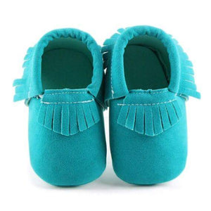 Green Moccasin - Mom and Bebe Ph