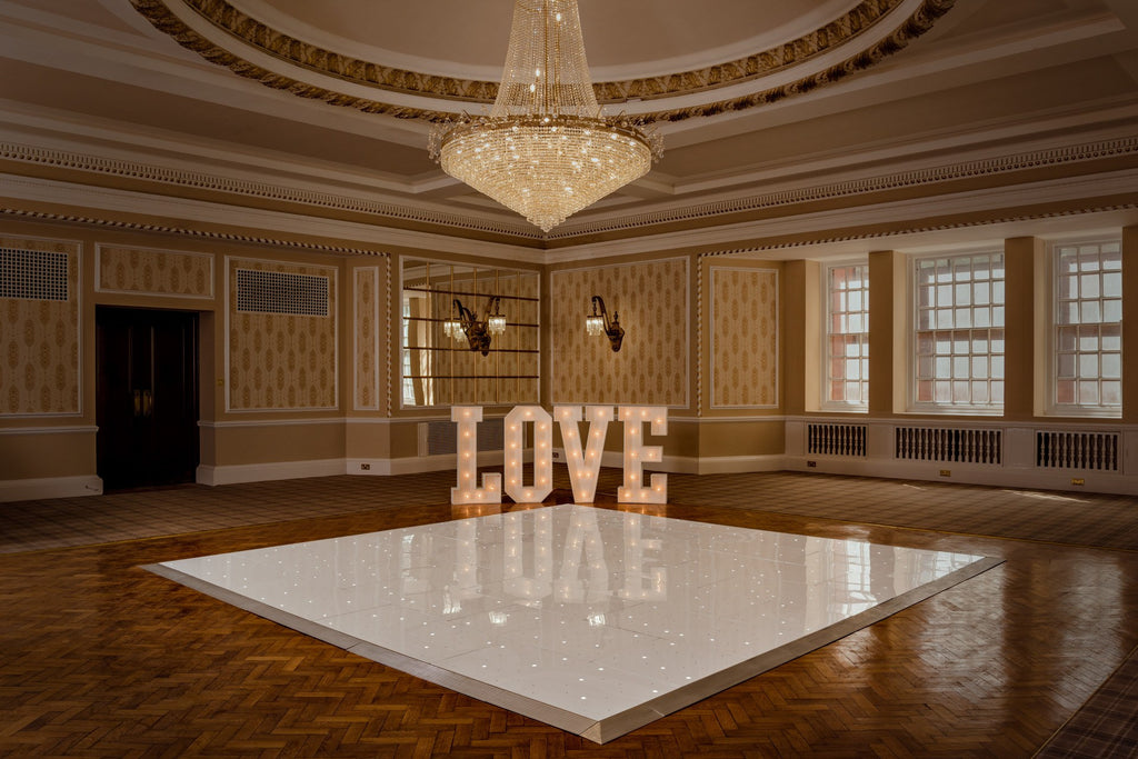 4ft Classic White Love Letters, Letter Lights, Scene My Event, Scene My Event - Scene My Event