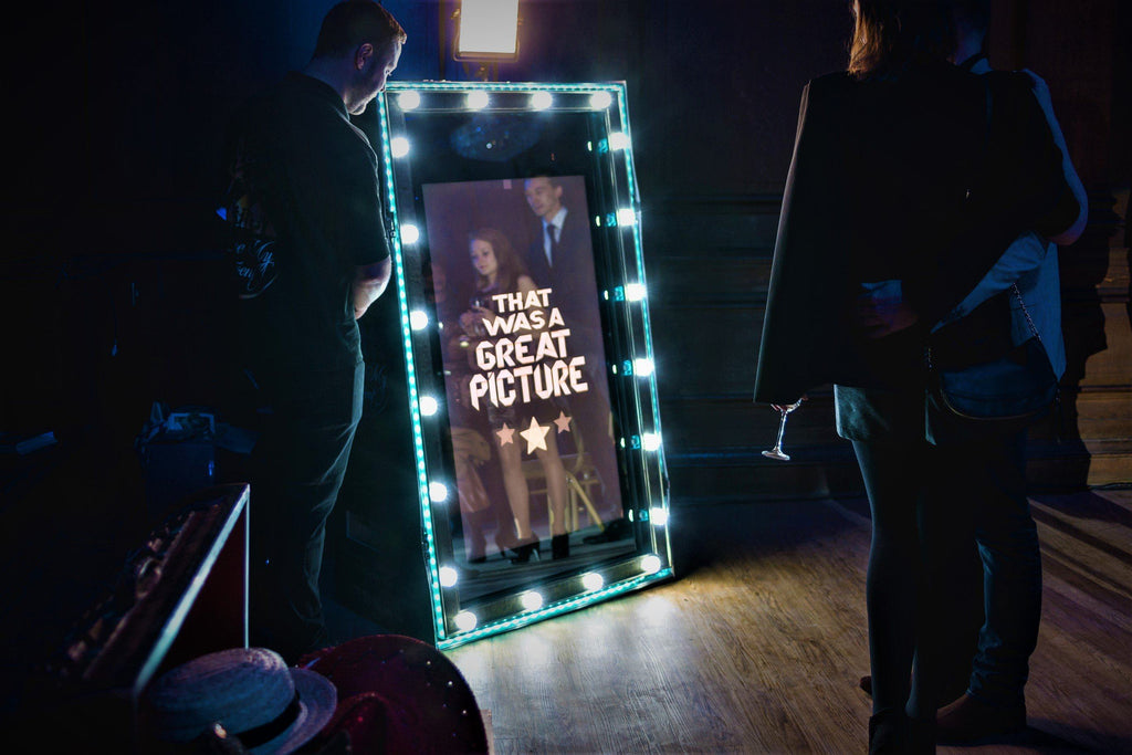Hollywood Spectre Magic Mirror Photo Booth, Photography, Scene My Event, Scene My Event - Scene My Event