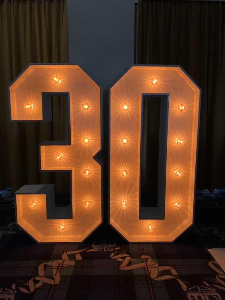 Light Up Numbers, Letter Lights, Scene My Event, Scene My Event - Scene My Event