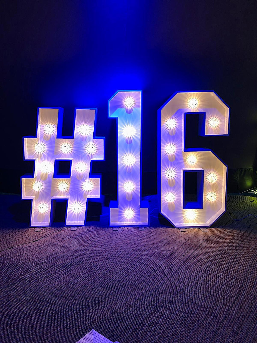 Light Up Letters & Numbers, Letter Lights, Scene My Event, Scene My Event - Scene My Event