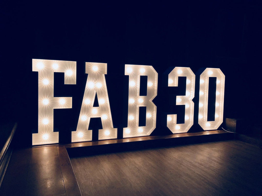 4ft Light Up Numbers, Letter Lights, Scene My Event, Scene My Event - Scene My Event