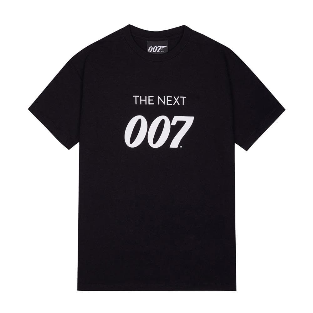 The Next 007 Kids Black T-Shirt - 007STORE