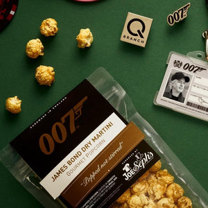 James Bond Dry Martini Gourmet Popcorn - By Joe & Seph's