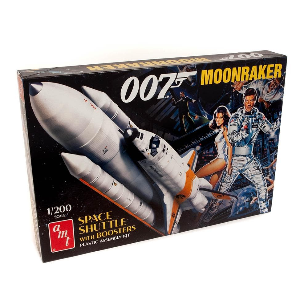 James Bond Moonraker Space Shuttle Model Kit - By AMT