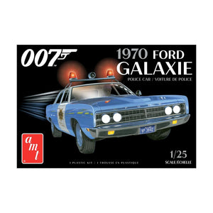 James Bond Ford Police Car Model Kit - Diamonds Are Forever Edition - by AMT - 007STORE