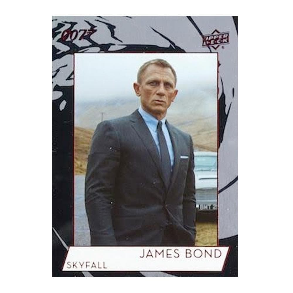 007 James Bond Collection Trading Card Set By Upper Deck - 007STORE