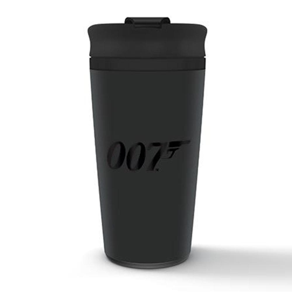 007 Black Logo Hot & Cold Travel Cup (425ml) - 007STORE