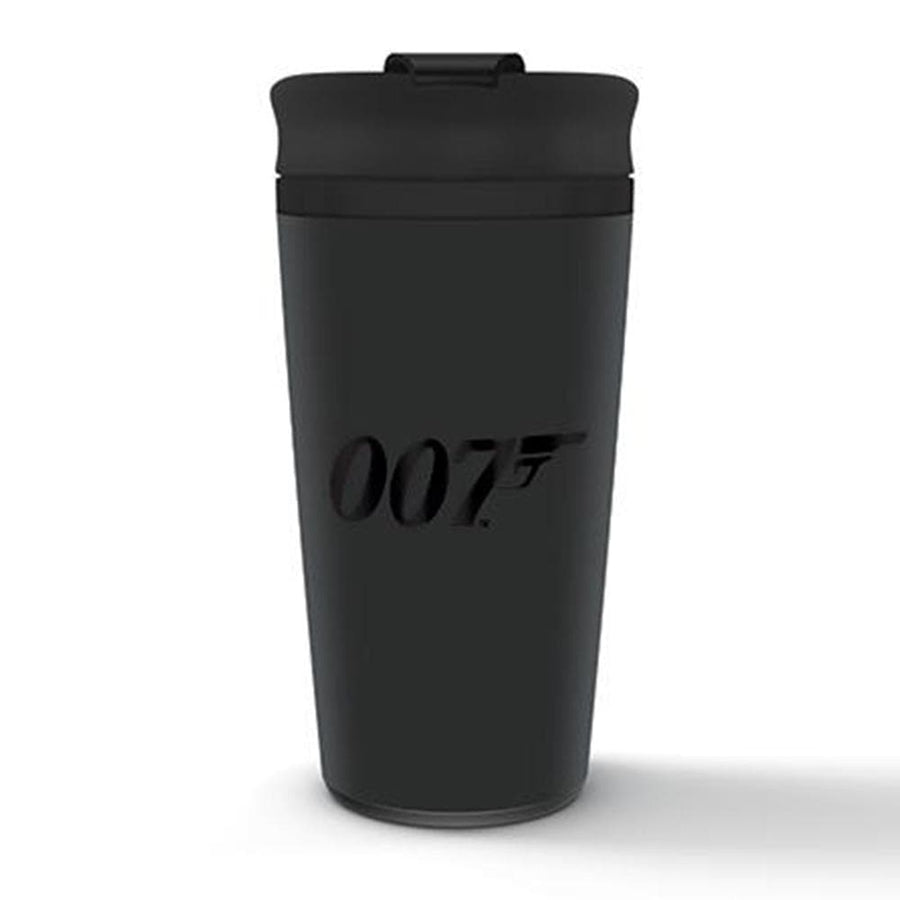 007 Black Logo Hot & Cold Travel Cup (425ml)