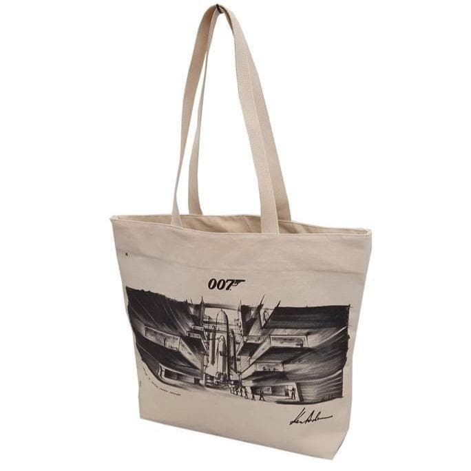 Ken Adam Moonraker Art Tote Bag - 007STORE