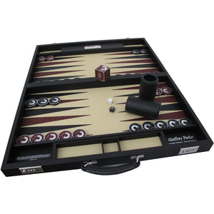 007 Bespoke Backgammon Set - Numbered Edition Handmade To Order By Geoffrey Parker - 007STORE