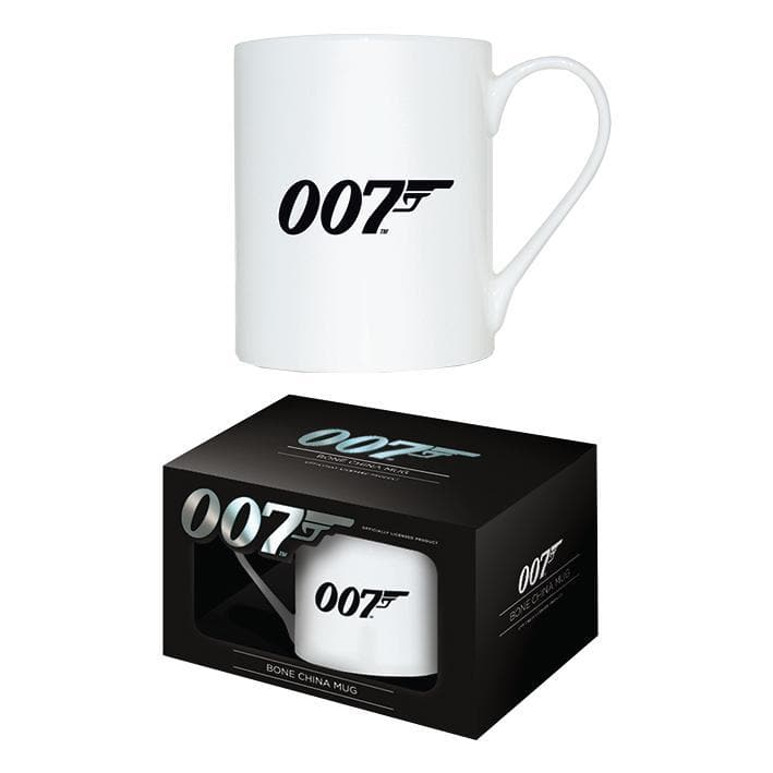 007 Logo Bone China Mug - 007STORE
