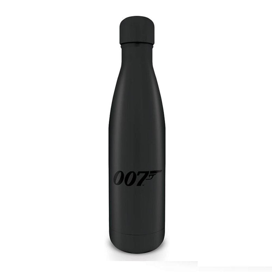 007 Black Logo Hot & Cold Water Bottle (500ml) - 007STORE