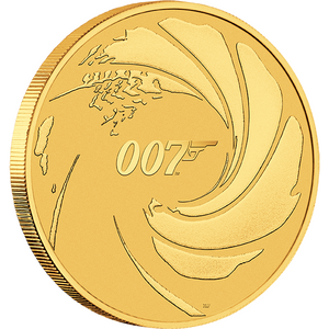 James Bond 1oz Gold Coin - Limited Edition - By The Perth Mint