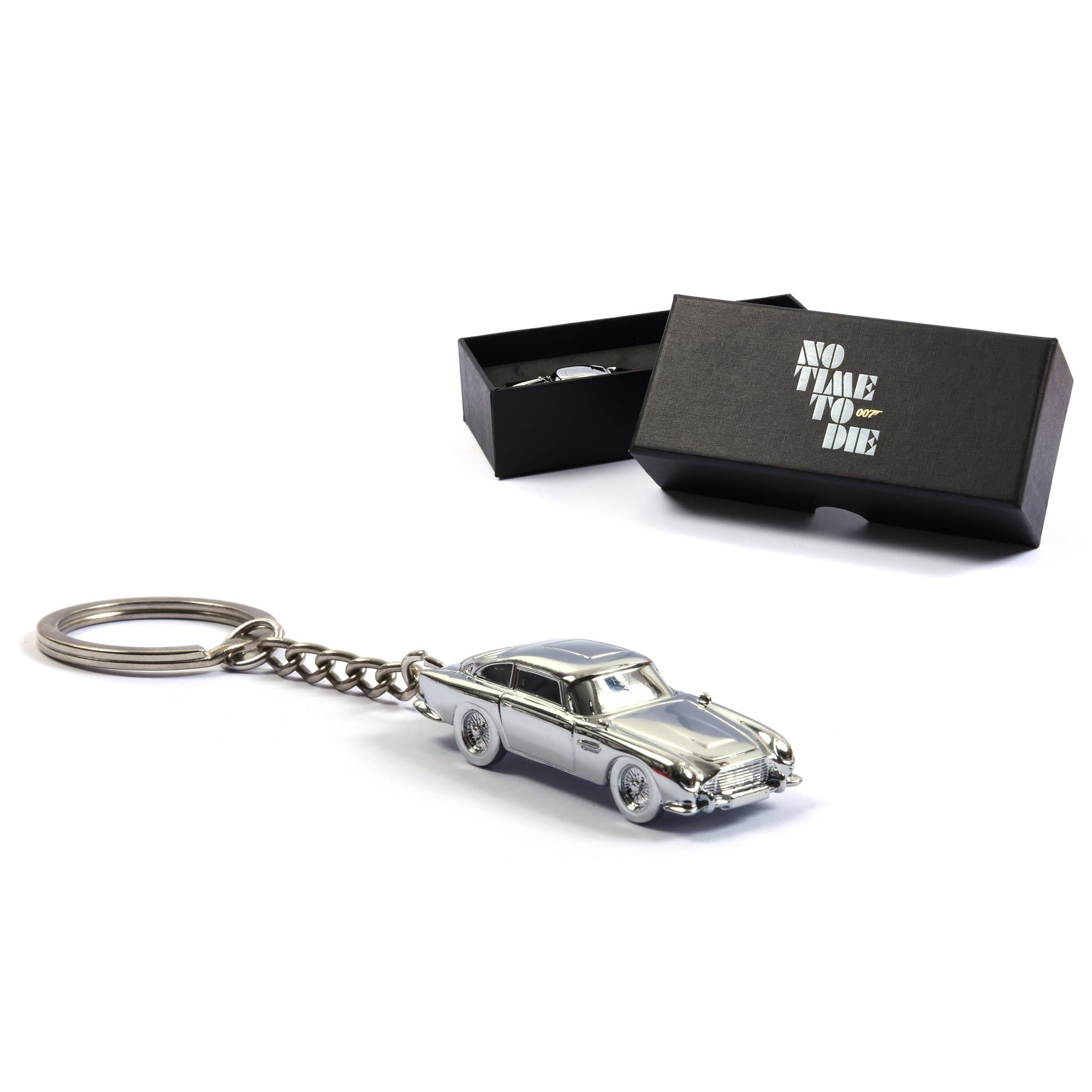 Aston Martin DB5 James Bond Keyring  - No Time To Die Edition - 007STORE