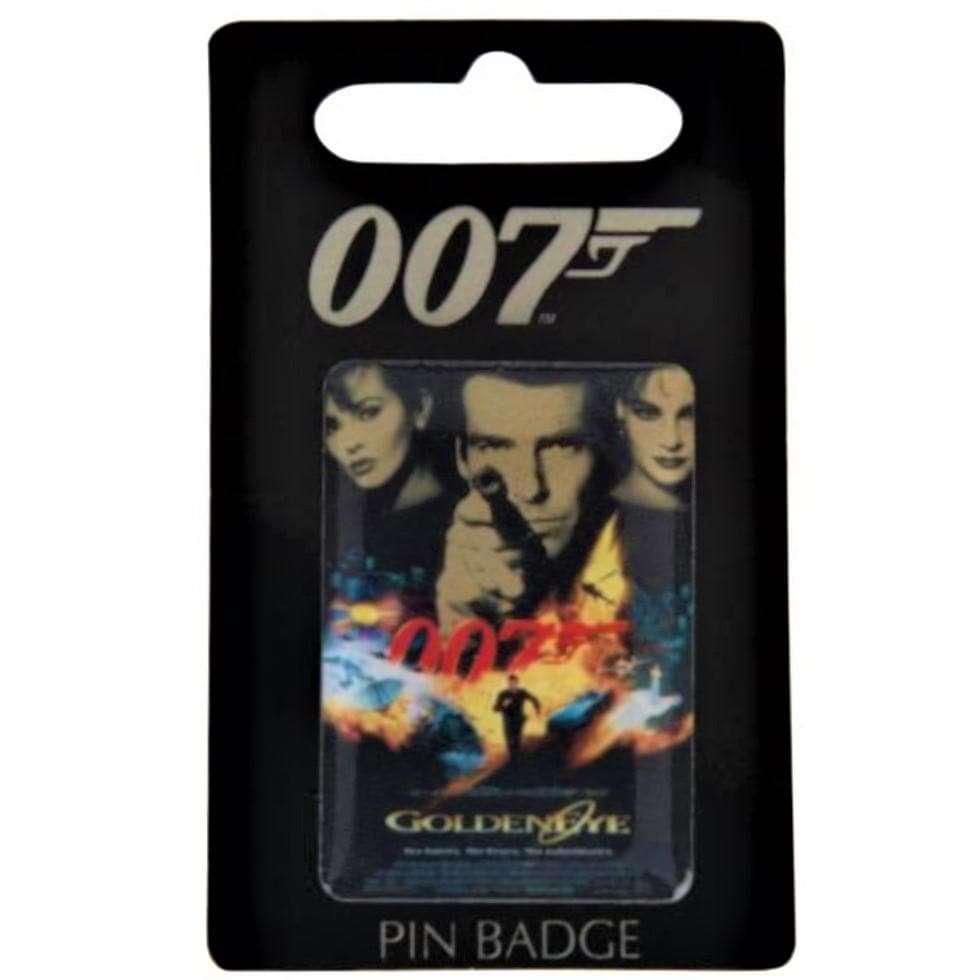 GoldenEye Pin Badge - 007STORE