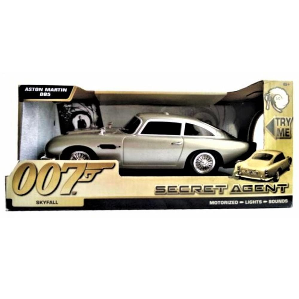 007 Aston Martin DB5 Light & Sound Car - Skyfall Secret Agent Edition - 007STORE
