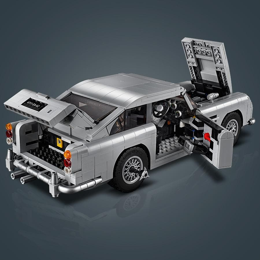 James Bond Aston Martin DB5 Car Model - By LEGO Creator Expert