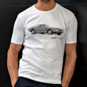 Aston Martin DBS T-Shirt - On Her Majesty's Secret Service Edition
