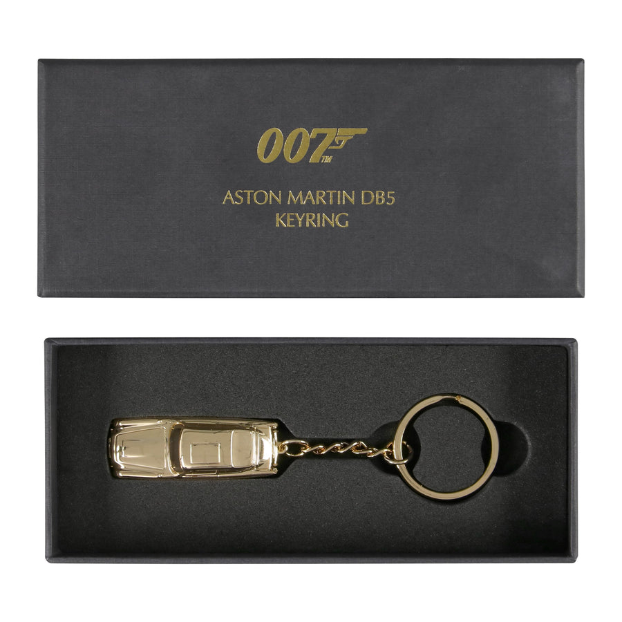 Aston Martin DB5 Gold Finish James Bond Keyring - By Aston Martin - 007STORE