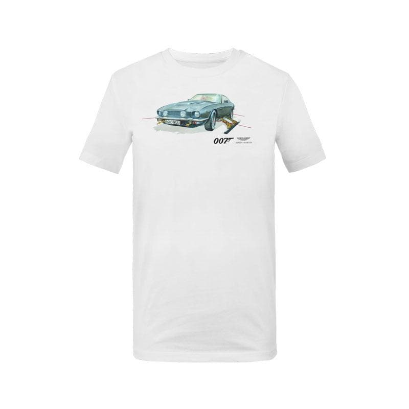 Aston Martin V8 Vantage Kids T-Shirt - The Living Daylights Edition - by Aston Martin - 007STORE