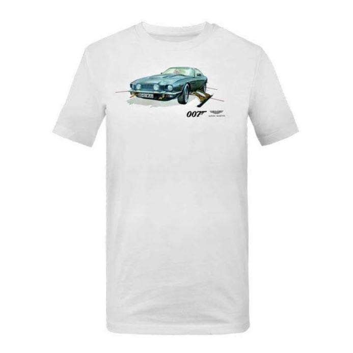 Aston Martin V8 Vantage T-Shirt - The Living Daylights Edition - By Aston Martin - 007STORE