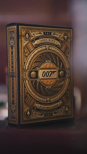 James Bond Playing Cards - By theory11
