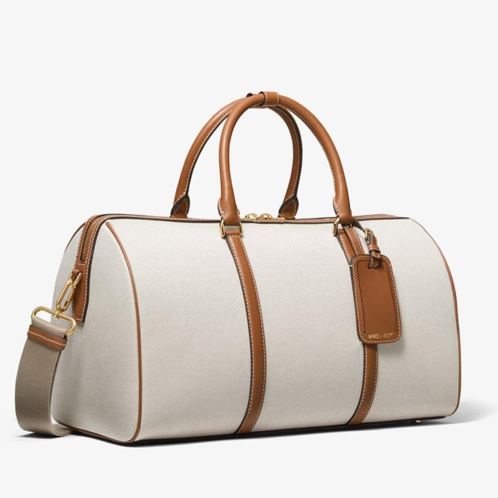 MKC x 007 Bond Cotton Canvas & Leather Duffle Bag - by Michael Kors Collection - 007STORE