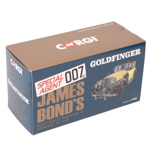 James Bond Rolls Royce Phantom III Model Car - Goldfinger Edition - By Corgi - 007STORE