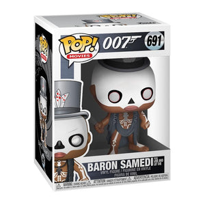 Baron Samedi Pop! Figure By Funko - 007STORE