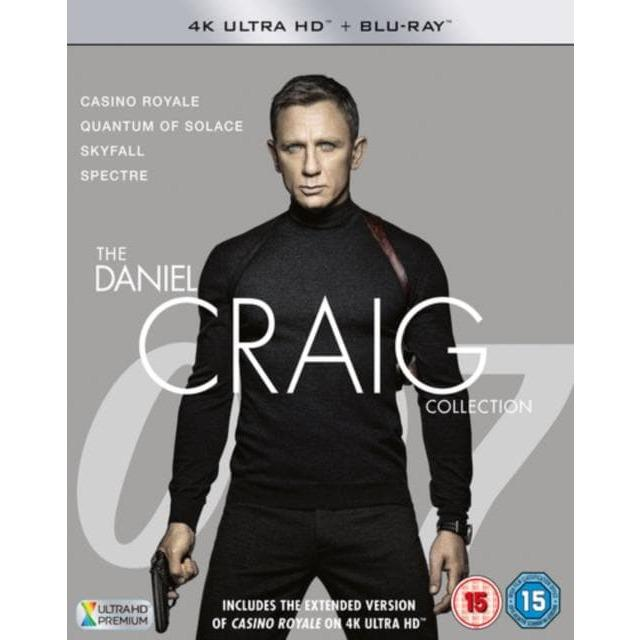 The Daniel Craig Collection - 4K Ultra HD + Blue-Ray DVD Boxset - 007STORE