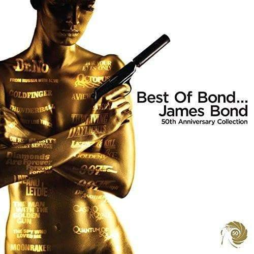 Best Of Bond...James Bond CD (White) - 50th Anniversary Collection l Official James Bond 007 Store