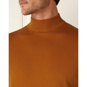 Orange Cotton/Cashmere Sweater - On Her Majesty's Secret Service Limited Edition By N.Peal - 007STORE