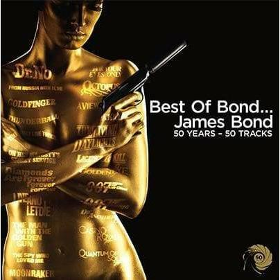 Best Of Bond CD - 50 Years, 50 Tracks l Official James Bond 007 Store