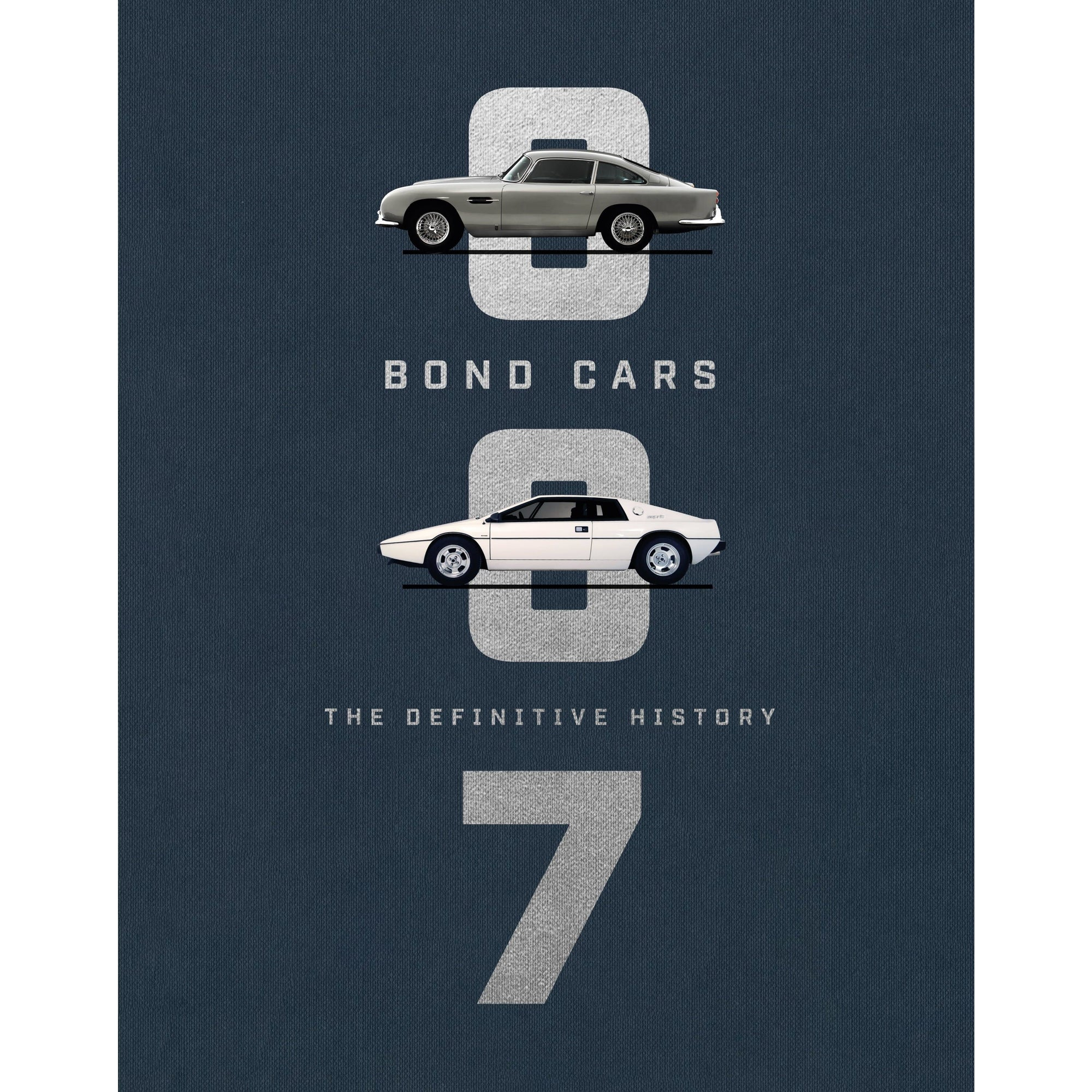 """Bond Cars: The Definitive History"" Book - Standard Edition"