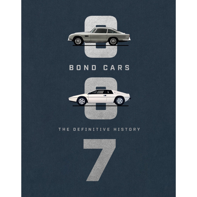"""Bond Cars: The Definitive History"" Book - By Jason Barlow"