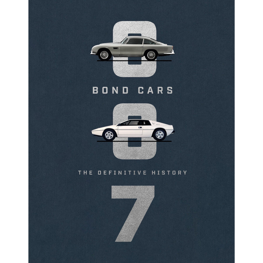 """Bond Cars: The Definitive History"" Book - By Jason Barlow (Pre-order)"