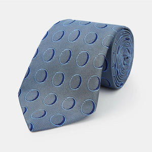 Circle Silk Tie - Die Another Day Edition - By Turnbull & Asser