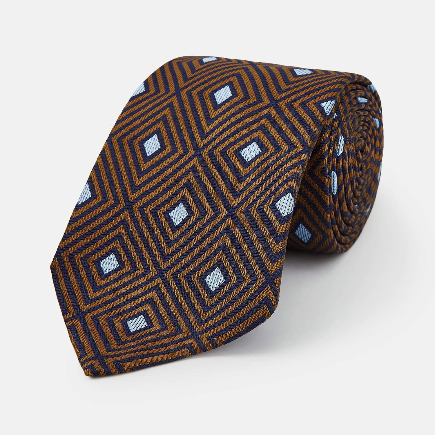 Squares Silk Tie - Tomorrow Never Dies Edition - By Turnbull & Asser