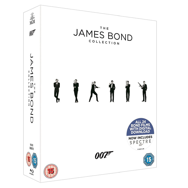 JAMES BOND BLU-RAY BOX SET - 007STORE