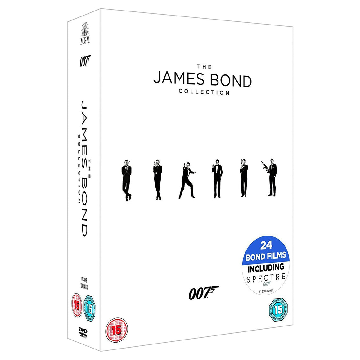 The James Bond Collection 1-24 DVD Box Set - 007STORE