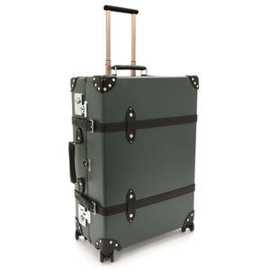 007 Vulcanised Fibreboard Check-In Trolley Case - by Globe-Trotter - 007STORE