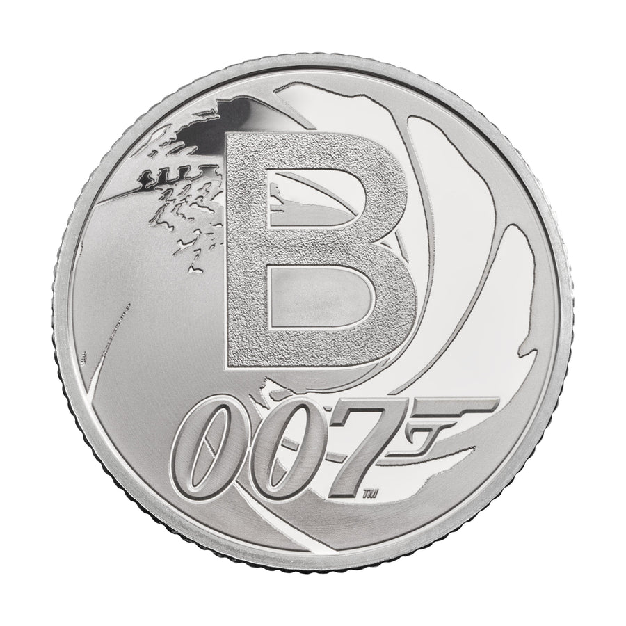 James Bond 10p Silver Proof Coin - The Great British Coin Hunt Limited Edition - By The Royal Mint - 007STORE