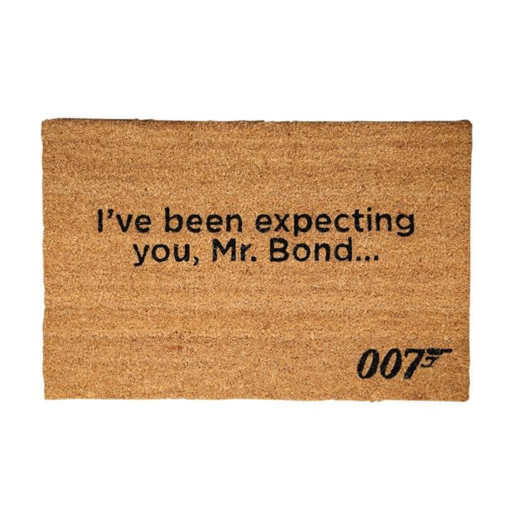 """I've Been Expecting You, Mr Bond"" Coir Door Mat - 007STORE"