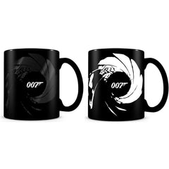 HEAT-SENSITIVE 007 GUN BARREL MUG