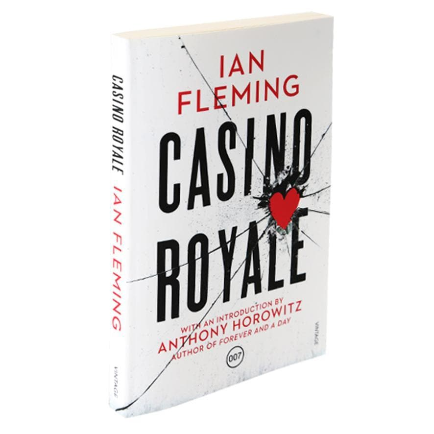 Casino Royale: Vintage 007 (Paperback) l Official James Bond 007 Store