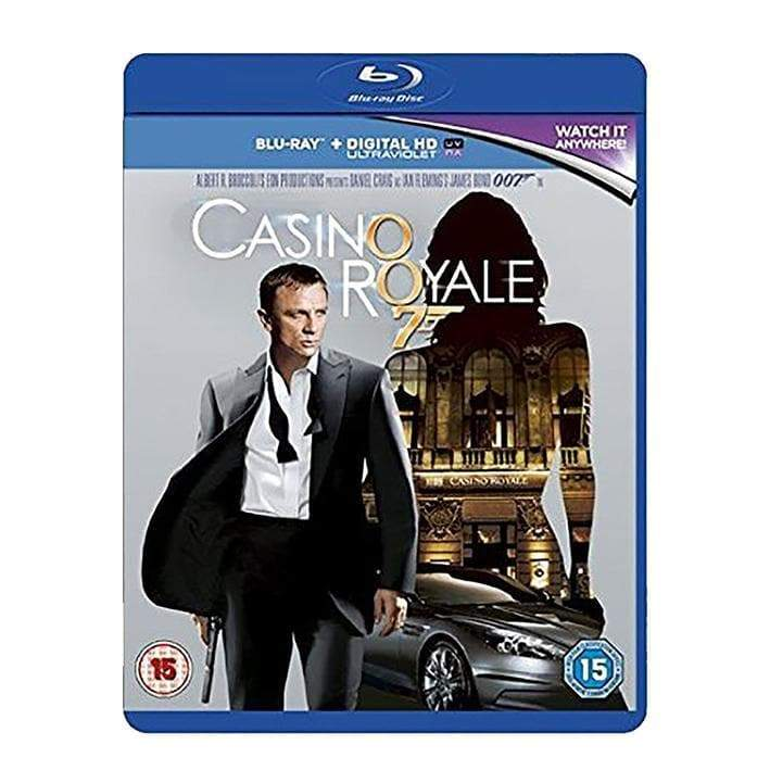 CASINO ROYALE (2006) BLU-RAY l Official James Bond 007 Store