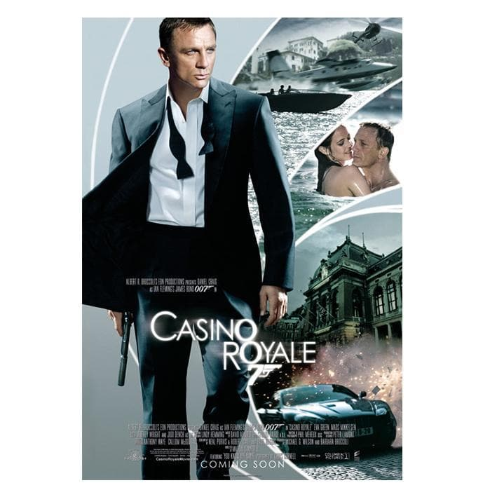 Casino Royale Postcard - 007STORE