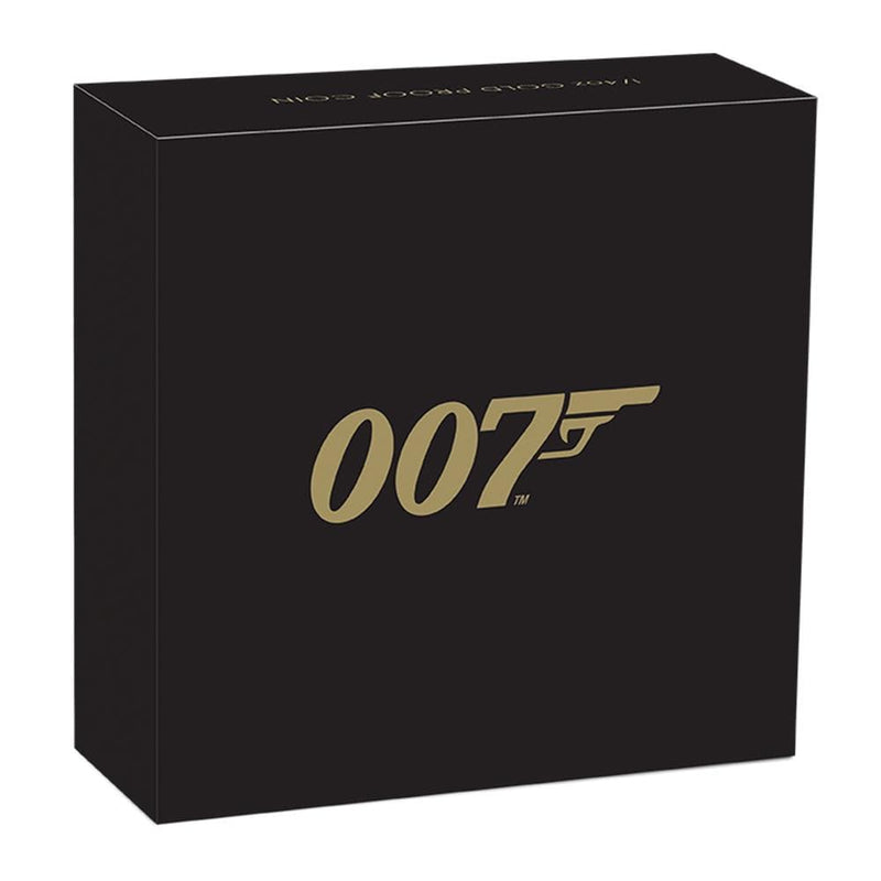 James Bond 1/4oz Gold Proof Coin - Limited Edition - By The Perth Mint - 007STORE