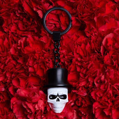 Day of the Dead Skull Mask Keyring l Official James Bond 007 Store